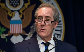 Outgoing US Trade Representative Michael Froman