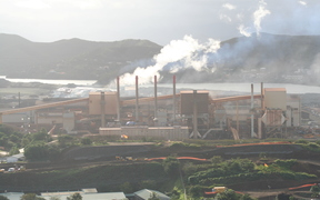 The SLN plant in Noumea.