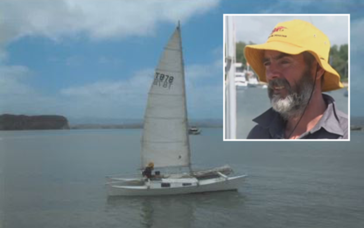Alan Langdon left Kawhia Harbour on a tiny catamaran with his daughter Que on 17 December.