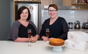 Founders of Good Bitches Baking, Marie Fitzpatrick and Nic Murray.