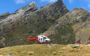 A Takaka woman has been rescued from a cliff face in the Kahurangi National Park after a 40m fall.