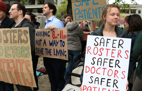 Christchurch Junior Doctors Strike