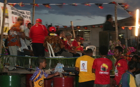 PNG Party rally during the 2012 Papua New Guinea election campaign.