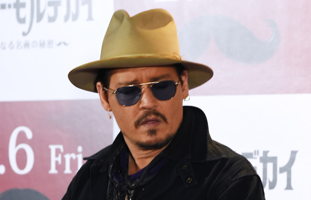 The actor Johnny Depp.