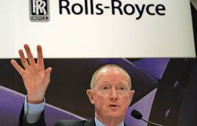 Rolls-Royce plc chief operating officer Mike Terret.