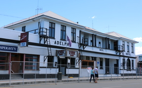 The Adelphi Hotel Kaikoura earthquake. Building owner is Bernard Harman 027 439 3925