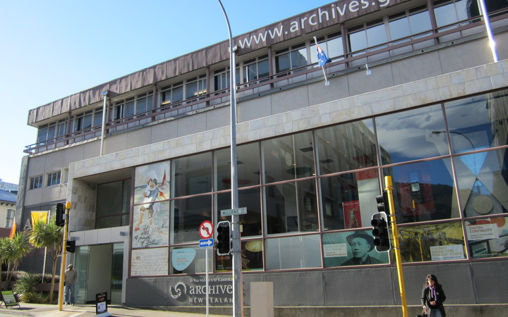 Archives New Zealand, Archives building, 10 Mulgrave Street, Wellington