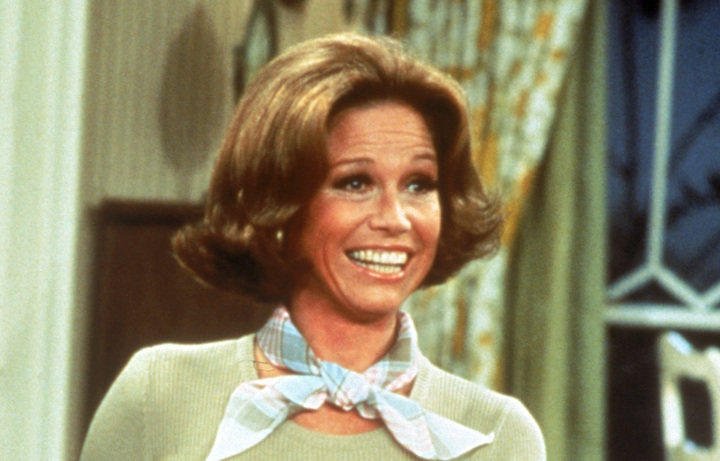 The actress in the Mary Tyler Moore Show, the US TV series which ran frm 1970 to 1977.