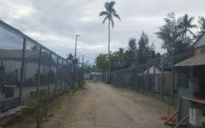 The Manus Island detention centre.