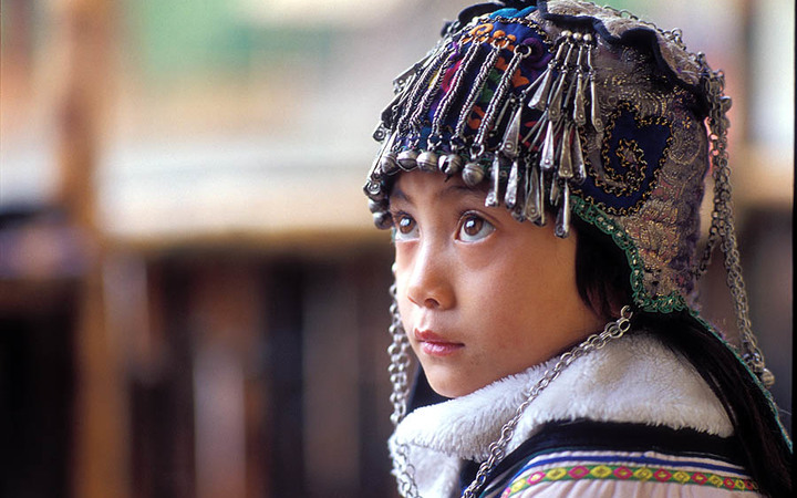 Member of the Hani people of Yunnan Province