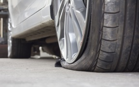 car tyre puncture generic