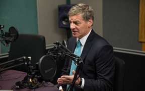 Prime Minister Bill English speaking on Morning Report, January 31 2017.