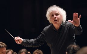 Sir Simon Rattle with LSO