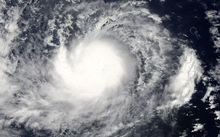 Tropical Storm Dolphin before it develops into a Typhoon off Guam