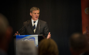 Bill English gives his State of the Nation speech. 2 February 2017.