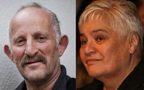 Gareth Morgan and Tariana Turia