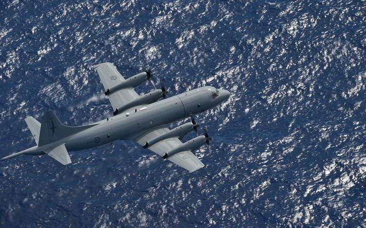 NZ Air Force Orion joins search for Kiribati fishermen
