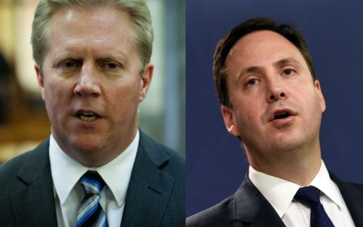 Trade Minister Todd McClay, left, will meet with his Australian counterpart Steven Ciobo.