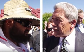 winston Peters versus marae official BFP