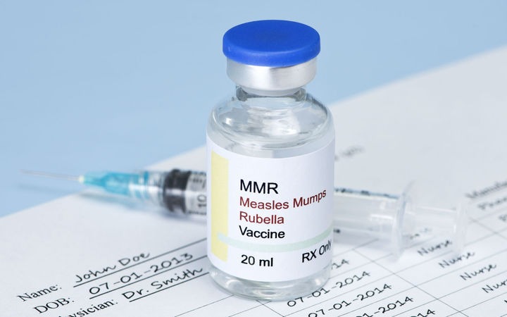 Measles, MMR (file photo)