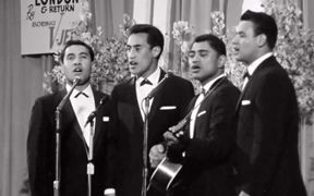 The Howard Morrison Quartet perform at Miss New Zealand 1963