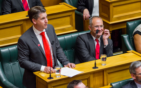 Newly elected Labour MP for Mt Roskill Michael Wood gives his maiden speech to Parliament.