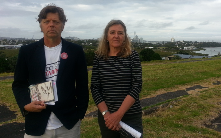 Iain Rea and Trish Deans are part of a Devonport residents' group appealing the consent for a 600-bed retirement complex to be built in the Auckland suburb.