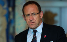 Andrew Little giving his Post Budget 2015 speech.