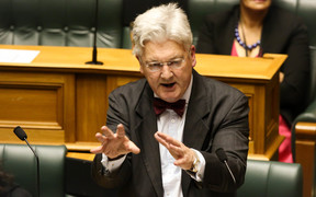 United Future leader Peter Dunne.