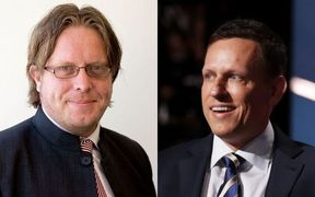 Matt Nippert and Peter Thiel