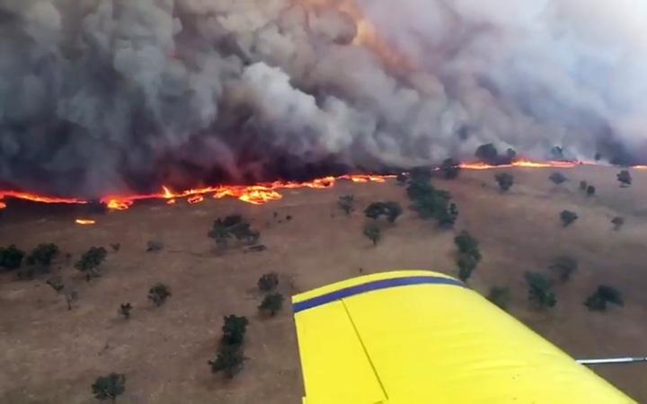Over 2500 firefighters battling blazes in Australia