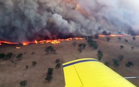 "Eastern Australia was bracing for severe ""off the scale"" fire conditions on February 12 as it baked in a heatwave that has broken temperature records and sparked dire warnings from authorities."