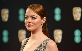Emma Stone won best actress at the Baftas for her role in La La Land.