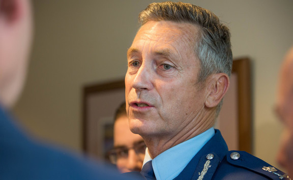 Mike Bush, Police Commissioner. 2 February 2017.