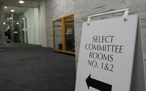 Select Committee rooms at Bowen House in Wellington.