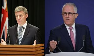 Bill English will meet with Malcolm Turnbull in Queenstown today for the pair's first annual leaders' meeting.