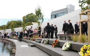 The Canterbury Earthquake National Memorial has been officially dedicated in Christchurch .