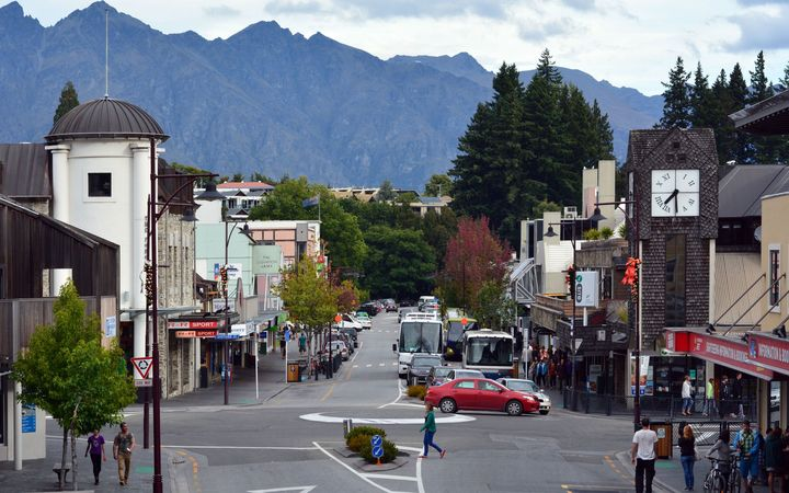 Central Queenstown.