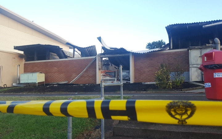 Fire at Long Bay College