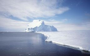 The Riiser-Larsen Ice Shelf in Antarctica