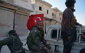 Turkish backed rebels now have control of al-Bab, the country's military says.