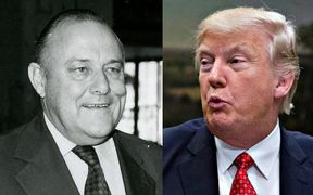Robert Muldoon and Donald Trump