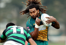 Peni Manumanuniliwa - pictured playing for Mid Canterbury against South Canterbury on 21 September 2013