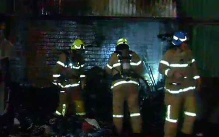 Three bodies have been found following a fire in a building where squatters live in Melbourne.