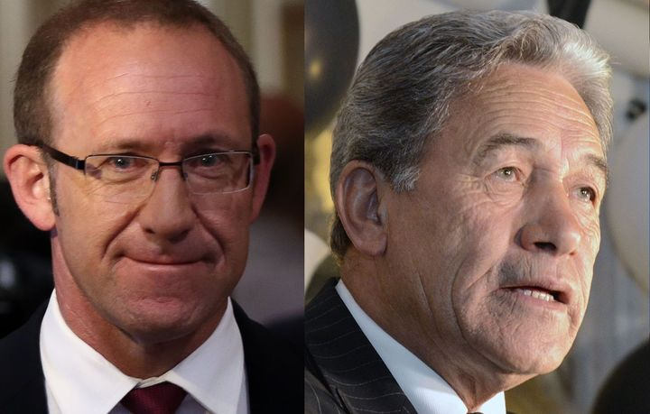 Andrew Little, Winston Peters