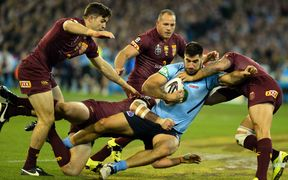 James Tamou State of Origin Two 2015