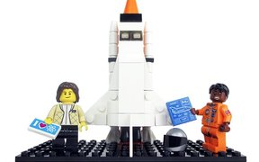 Women of NASA lego figurines, created by Maia Winstock