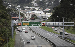 20072016 Photo: Rebekah Parsons-King. Smart Motorway in Wellington.