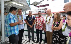 Shane Jones led NZ delegation in French Polynesia