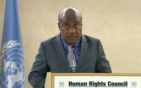 Vanuatu Justice Minister Ronald Warsal raises Pacific regional concern about human rights in West Papua at the UN.